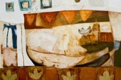 GroßSchwechten, Öl auf Leinwand, 2001, 90 x 110 cm