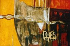 Spanien I, Acryl auf Leinwand, 2001, 120 x 100