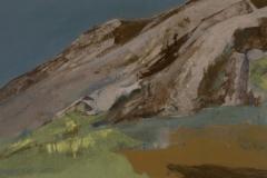 Berg, Acryl auf Papier, 2008, 36 cm x 28 cm