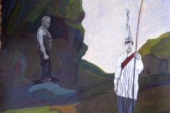 Eisenhans, Acryl auf Papier, 2008, 84 cm x 93 cm