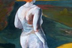 o. T., Acryl auf Papier, 2008, 45 cm x 65 cm