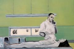 Pathologie, Öl auf Leinwand, 2009, 60 cm x 50 cm