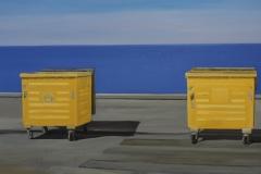 Container 2, Öl auf Leinwand, 2010, 120 cm x 100 cm