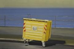 Container 1, Acryl auf Papier, 2010, 26 cm x 36 cm
