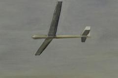 Flieger 3, Öl auf Papier, 2010, 26 cm x 36 cm