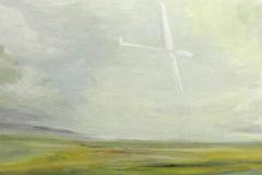 Flieger 6, Öl auf Leinwand, 2010, 60 cm x 50 cm
