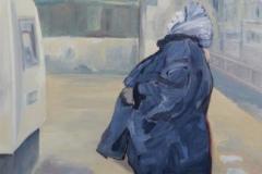 Grossmutter, Öl auf MDF, 2010, 40 cm x 50 cm