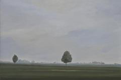 Autobahn A44-III, Acryl auf Leinwand, 2011, 90 x 80 m
