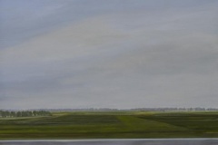Autobahn A44-IV, Acryl auf Leinwand, 2011, 90 x 80 cm