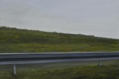 Autobahn A44-V, Acryl auf Leinwand, 2011, 90 x 80 cm
