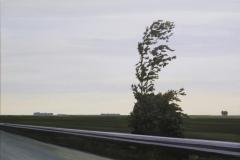 Autobahn A44-VII, Acryl auf Leinwand, 2011, 90 x 80 cm