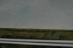 Autobahn A44-XI, Öl auf Leinwand, 2012, 70 x 70 cm