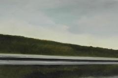 Autobahn A44-XV, Öl auf Leinwand, 2012, 40 x 30 cm