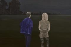 M u S Treptow, Öl auf Leinwand, 2012, 110 x 100 cm
