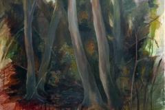 Wald_02  Acryl  auf Leinwand 80 x 90 cm  2020